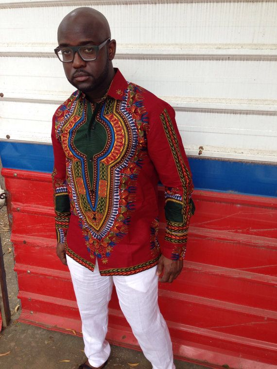 latest African American Dashiki Shirts Pattern For Men