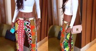 African Print Trousers For Ladies 2020 Pics