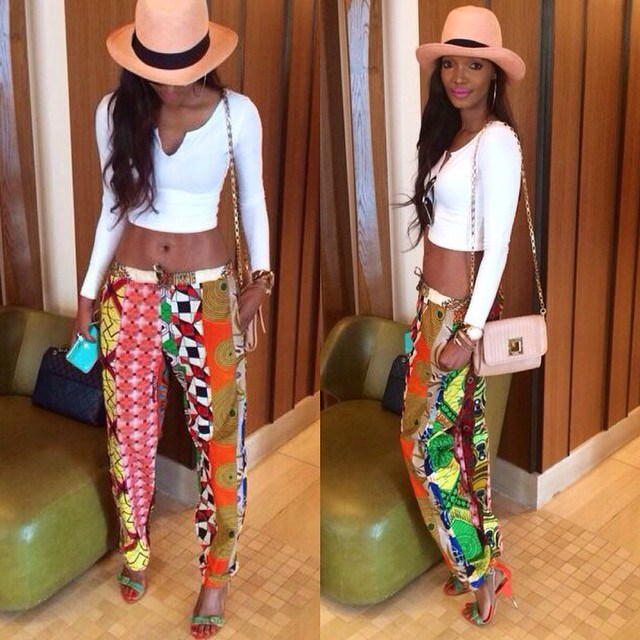 African Print Trousers For Ladies 2017 Pics