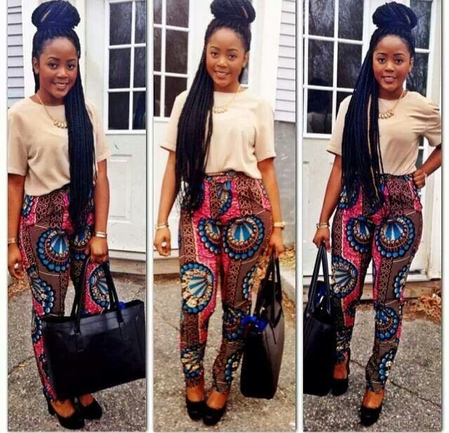 African Print Trousers For Ladies 2020