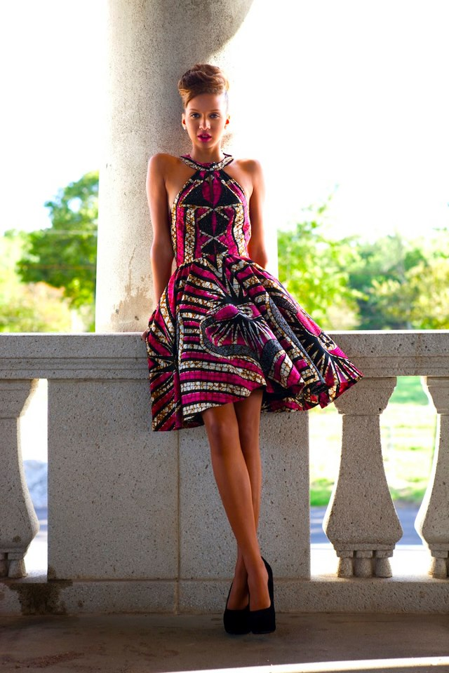 African Wax Print Dress Styles 2020 Photos