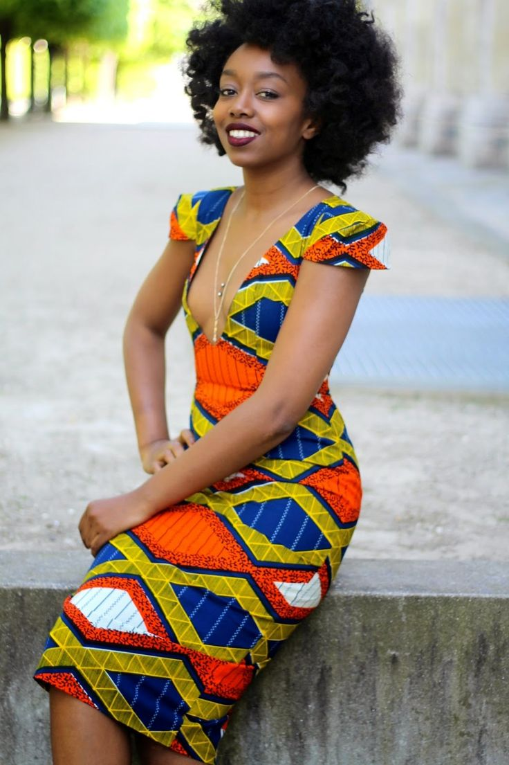 African Wax Print Dress Styles 2017 Pictures