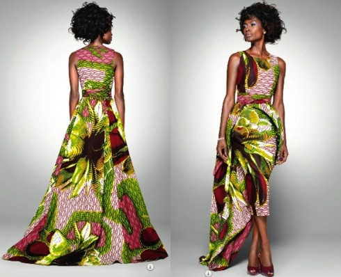 African Wax Print Dress Styles 2020