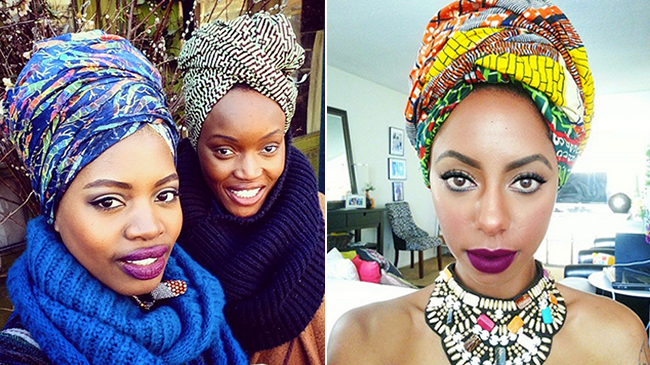 How To Tie Your African Head Wrap Scarf