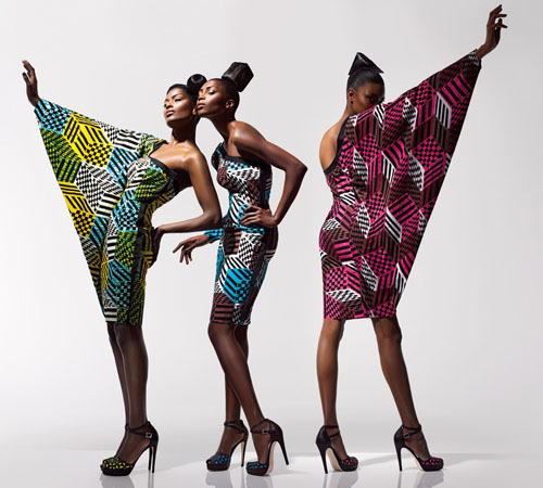 Latest African Wax Print Dress Styles 2020
