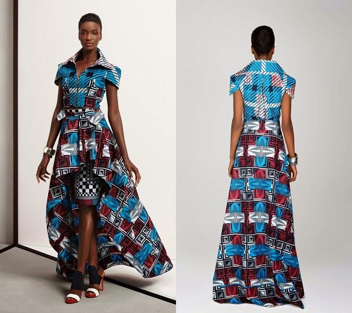 Modern African Print Dresses 2017