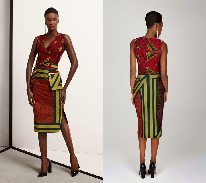 Modern African Print Dresses Styles 2017 Pictures