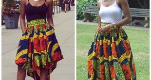 Modern African Print Dresses Styles