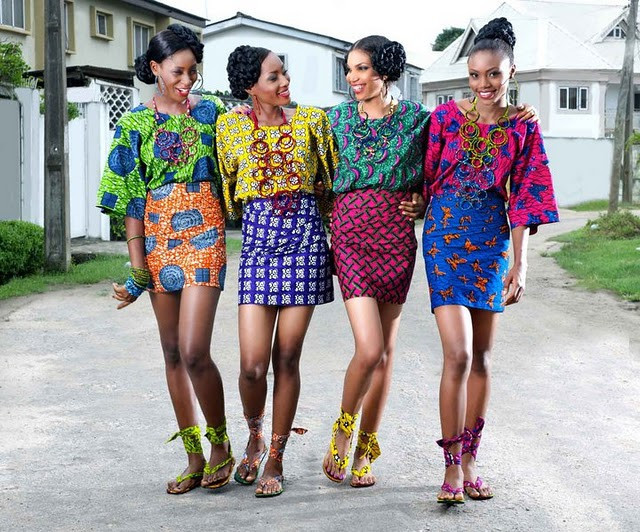 New African Wax Print Dress Styles 2020