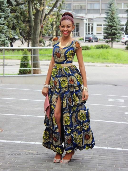 Ankara Long Gown Styles 2020 In Nigeria