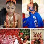 Igbo Traditional Wedding Attire For Bride And Groom