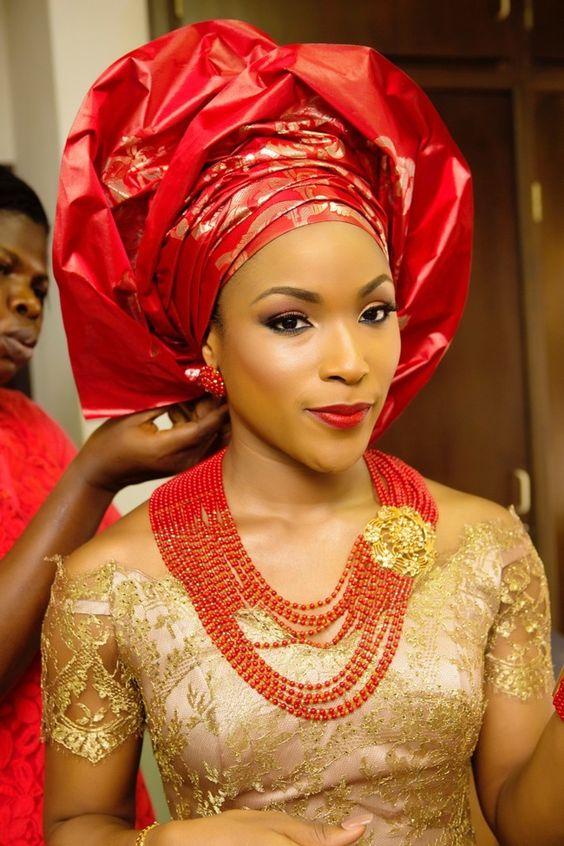 Latest Igbo Traditional Wedding Attire For Bride