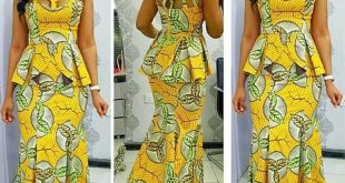 Latest Nigerian Skirt And Blouse Styles 2018