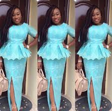 Latest Nigerian Skirt And Blouse Styles 2017 Designs