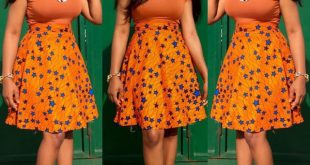 Latest Nigerian Skirt And Blouse Styles 2016 Pictures