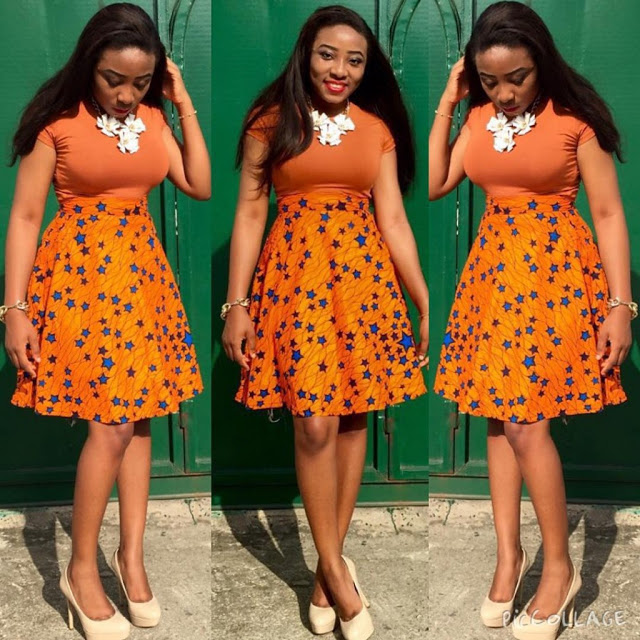 Latest Nigerian Skirt And Blouse Styles 2017 Pictures