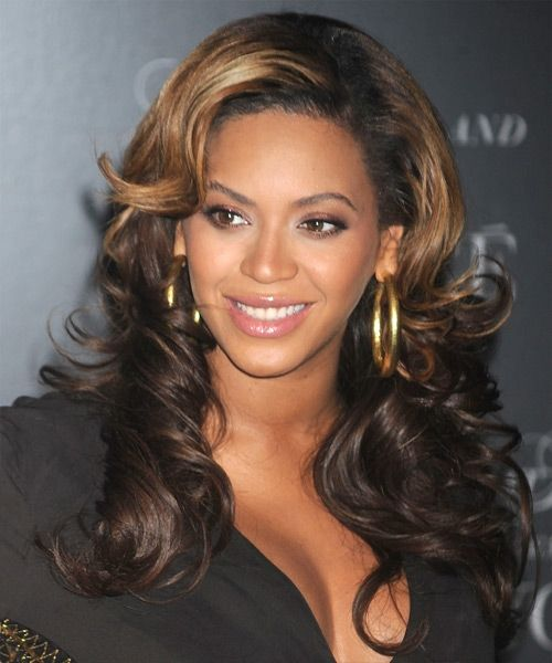 Long African American Hairstyles For Round Faces
