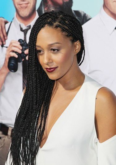 Long Braided African American Hairstyles For Round Faces