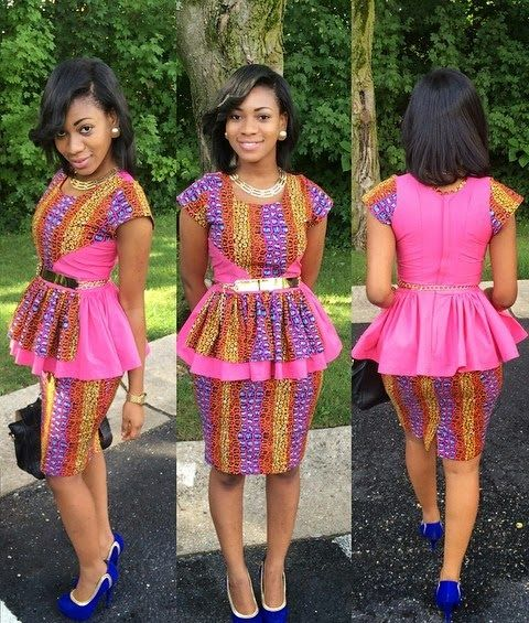 Nigerian Skirt And Blouse Styles 2017