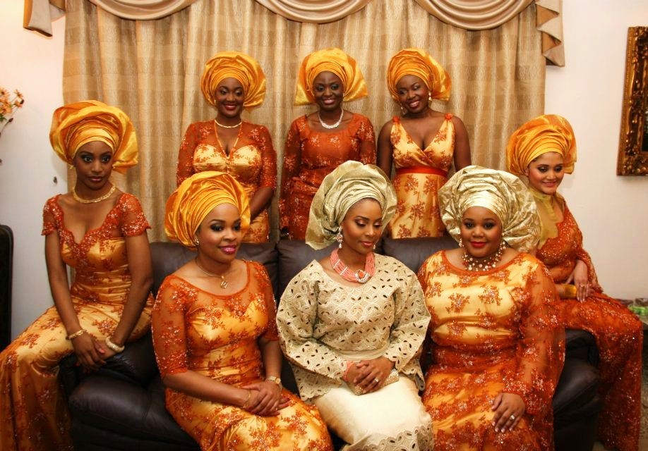 Igbo Traditional Wedding Dresses Styles In Nigeria Photos