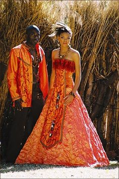 African Print Dress Styles For Weddings