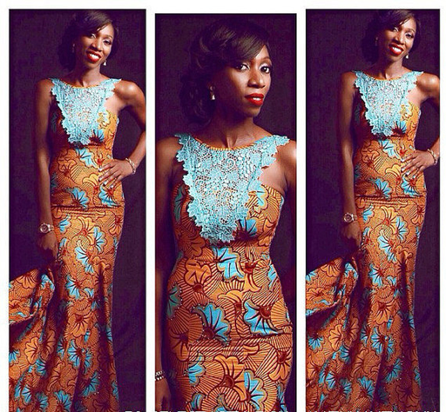 African Print Dresses Styles For Weddings