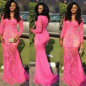 Nigerian Lace Dress Styles 2017 Pictures