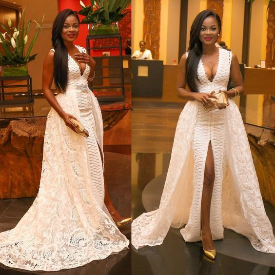 Nigerian Lace Dress Styles 2017 Wedding