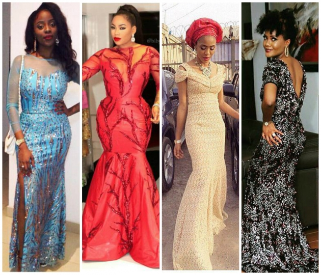 Nigerian Lace Dress Styles 2017