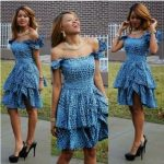 Latest Ankara Short / Long Gown Designs 2017 Dress Pictures