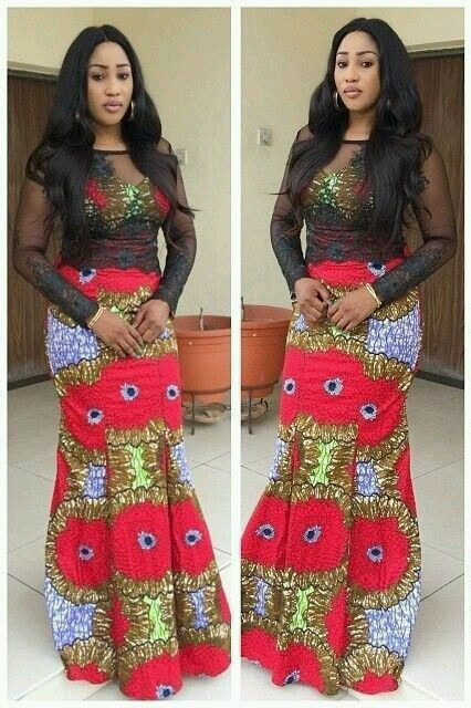 Latest Ankara Long Gown Designs 2017 Dress Pictures