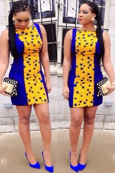 Latest Ankara Short Gown Designs 2017 Dress Pictures