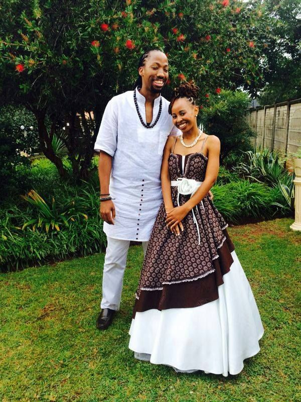 Tswana Traditional Wedding Attire For Couples 2019 Pictures