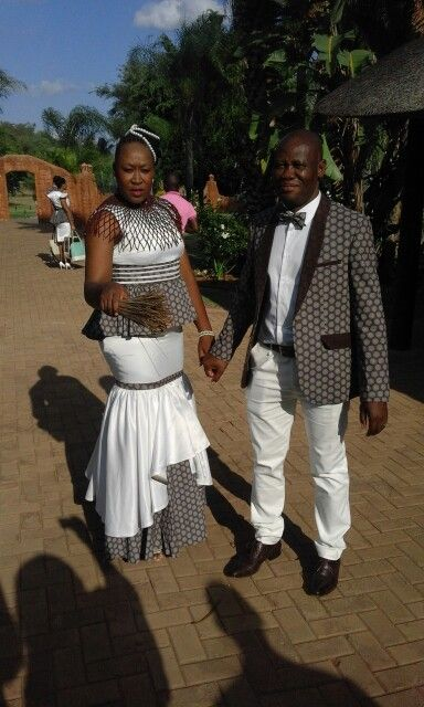Tswana Traditional Wedding Attire For Couples 2017