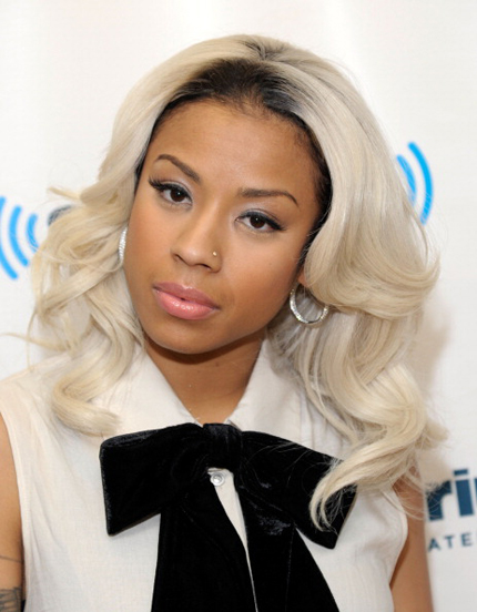 Platinum Blonde Hair Color For Black Women With Natural Hairs