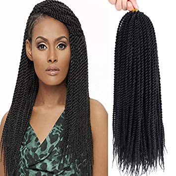 senegalese twist crochet hairstyles
