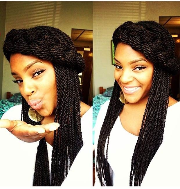 senegalese twist hairstyles for prom